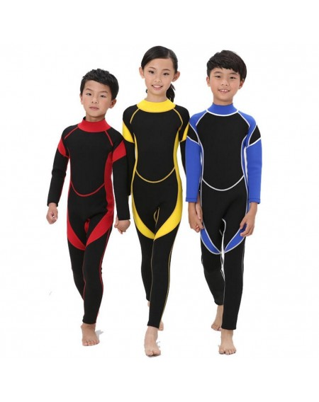 2.5MM Neoprene Wetsuits Kids Scuba Diving Suits Boys Girls Surfing Guards Clothes For Youth