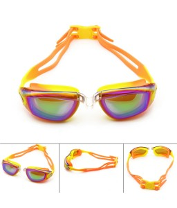 ​Colorful Dazzling Swimming Goggle For Kids Teenagers With Waterproof Anti-fog No Leak