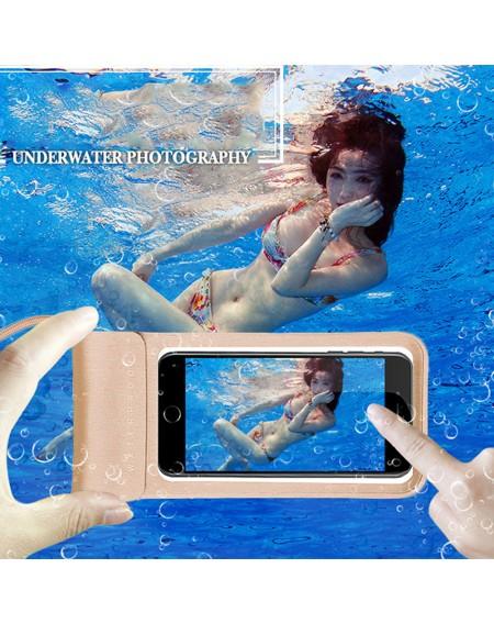 Waterproof Mobile Phone Cover Outdoor Swimming Drifting Diving Halter Waterproof Bag