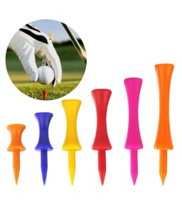 5 Pcs Plastic Graduated Golf Tees Height Control Wheel Shape Ball Nail 20mm Diameter