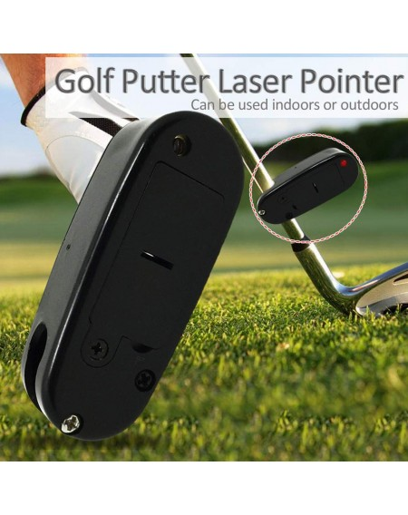 Golf Putter Laser Pointer Locator Putting Training Aim Line Corrector Infrared Diastimeter Golf Improve Aid Tools
