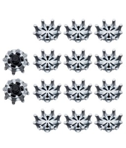 Golf Shoe Spikes Fast Spiral Golf Shoe Nails Grey-black Replacement Portable Shoe Nails