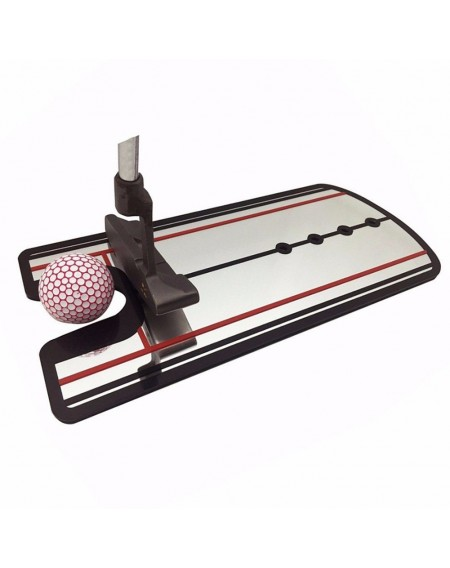 Golf Putting Mirror Alignment Training Gesture Aid Swing Trainer Line Motion Practice Tool