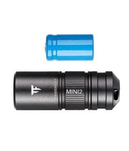 Mini EDC Torch 1.52Inch CA18-3X LED 220 Lumens Flashlight 10180 Li-ion USB Rechargeable Battery IPX8 Waterproof