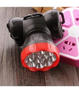 9 LED Headlamp Charging Powerful Head Lamp For Camping Hunting Fishing Miner Headlight