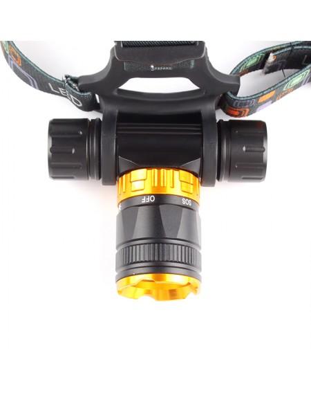 4000LM Lamp LED Underwater Waterproof Diving Headlamp Flashlight Torch Headlight