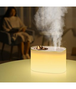1000ML Humidifier Aroma Essential Oil Diffuser Ultrasonic Air Mountain Shape 7 Night Color Changing LED Lights for Office Home