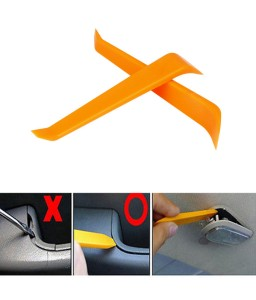 1Pcs Auto Car Radio Door Clip Panel Trim Dash Audio Removal Installer Pry Tool