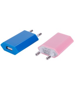 5V 1A AC Power Adapter USB Euro Wall Charger for iPhone MP3 iPad Charging