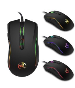 3200DPI USB Wired PC Computer Gaming Mouse 7 Buttons LED Optical Gamer Play Mice