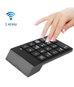 2.4G Wireless USB Numeric Keypad Mini Numpad 18 Keys Digital Keyboard for iMac/MacBook Air/Pro Laptop PC Notebook Desktop