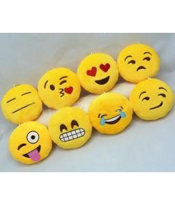 2.5'' Plush Emoji Keychain