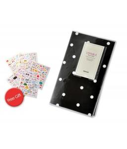 Lovable Card Holder Photo Album for Fuji Instax Mini Films - Dot