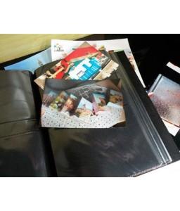 "PU Leather Photo Album for Kodak Photos 3.5x5"" - Orange"