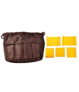 Selens PU Shockproof Camera Bag Insert - Brown
