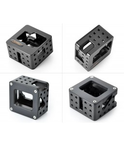 GoPro Aluminum Underwater Housing Cage for Hero 3/3+/4 Camera - Black