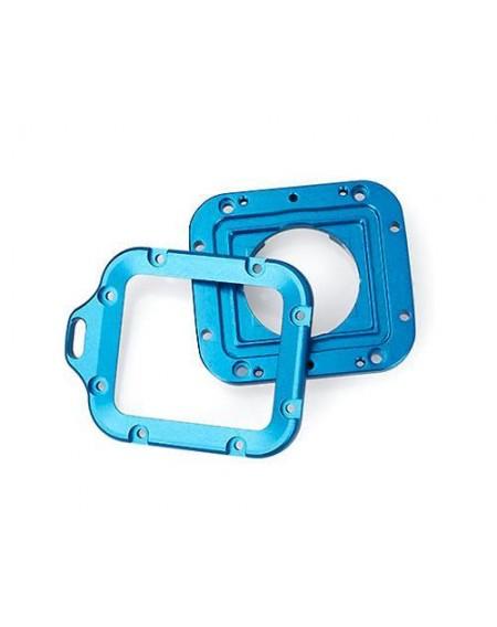 GoPro Full Aluminum LANYARD RING Mount for Hero 3 Black Edition- Blue