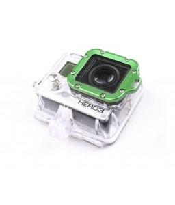 GoPro Aluminum LANYARD RING Mount for Hero 3 Black Edition - Green