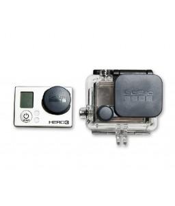GoPro Lens Protective Caps for Hero 3 Black Edition Camera - Black