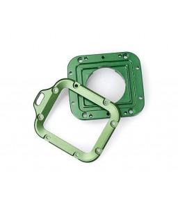 GoPro Full Aluminum LANYARD RING Mount for Hero 3 Black Edition- Green