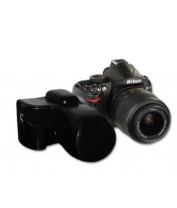 Retro Nikon D7200 Camera Leather Case