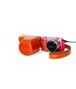 Retro Sony Alpha a5100 Camera Leather Case