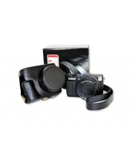 Retro Canon PowerShot G1 X Mark II Camera Leather Case