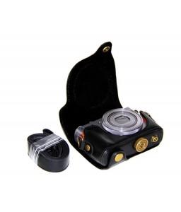 Retro Canon PowerShot G9 X Leather Camera Case