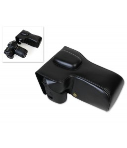 Retro Nikon D7500 Camera Leather Case