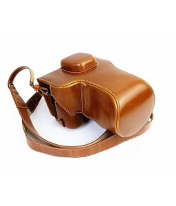 Premium Series Sony Alpha a7II Camera Leather Case