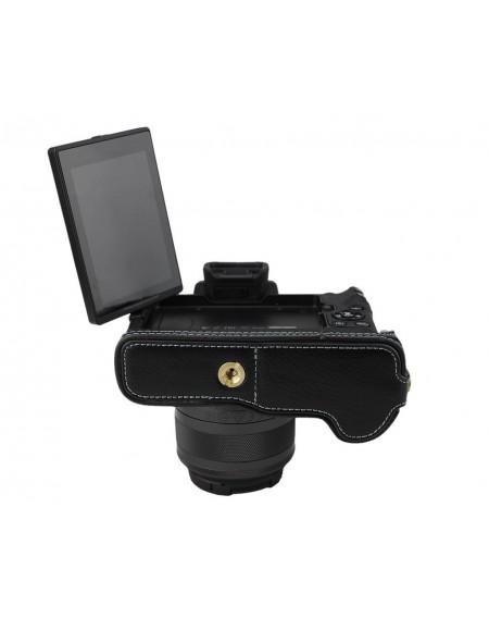 Canon EOS M50 Genuine Leather Half Camera Case