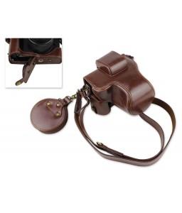 Premium Series Canon EOS M50 Camera Leather Case
