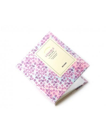 Lovable Card Holder Photo Album for Fujifilm Instax Mini Film - Flower