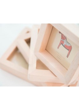 Wooden Picture Frame Photo Showcase Modern Framing - 3.5 by 5-Inch